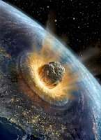asteroid collides with Earth
