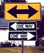 both ways are one way