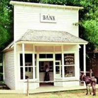 Small bank on the frontier