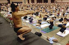 Yoga is big business