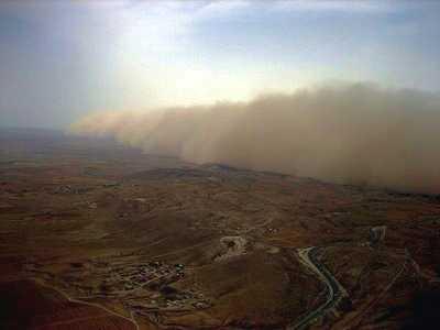 Morocco sandstorm