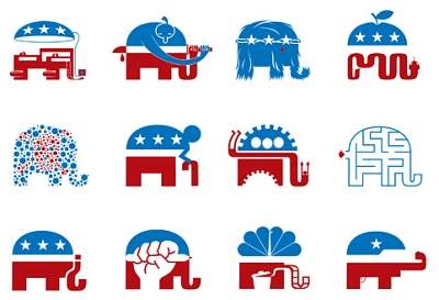 The Republican Dumbo Elephant 'redesign one'
