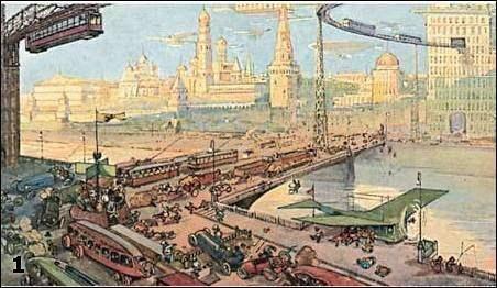 Plans in 1900 Eussia