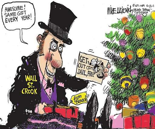 wall street crook luckovich oh THAT gift