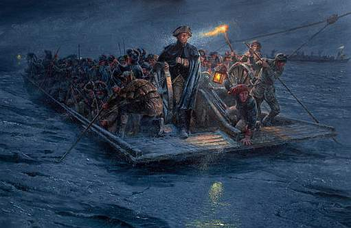 washington crossing delaware merry xmyth