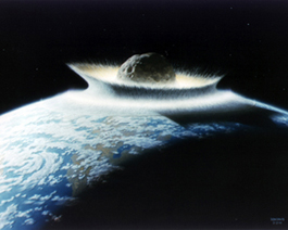 A catastrophic asteroid impact