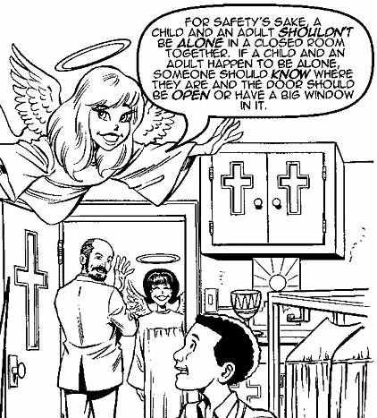 Roman Catholic coloring book