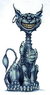 Cheshire Cat as depicted in American McGee's Alice