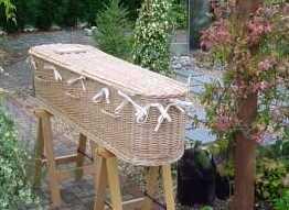 Bio-degradable coffin