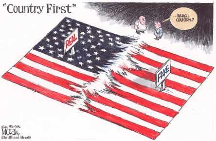 Morin, Miami Herald, Country First