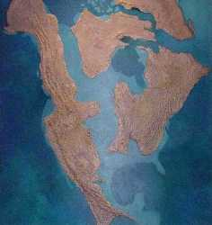 Inland sea of North America