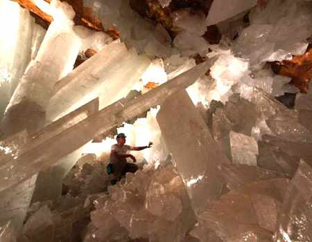 Mexico's crystal cave