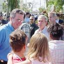 Jeb and George Bush with their Baptist voters