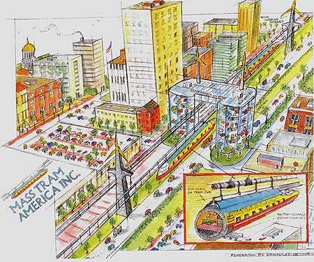 Mass Tram Proposal
