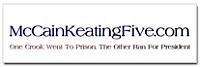 McCain Keating Five sticker