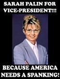 Sarah Palin ready to spank America