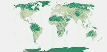 Global remaining wilderness areas (WWF)