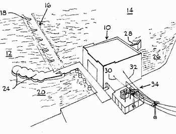 Run-of-river Patent 4674279