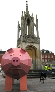 Trojan Pig by Cameron Naughton of West End Farm,