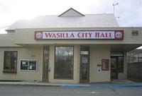 Sarah Palin, Wasilla City Hall