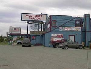Wasilla downtown saloon